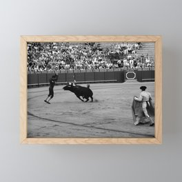 Bullfighting 35b Framed Mini Art Print