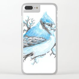 Bluejay Clear iPhone Case