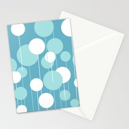 Float - Blue & White Stationery Cards