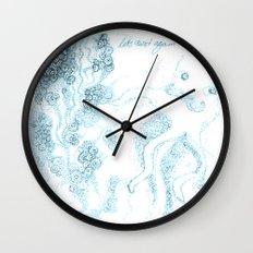 let´s twist again Wall Clock