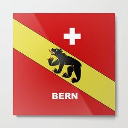 Bern City Of Switzerland Metal Print