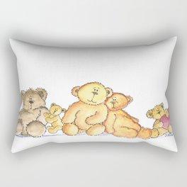 The Bear Clan Rectangular Pillow