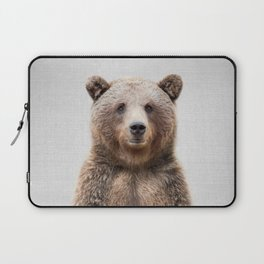 Grizzly Bear - Colorful Laptop Sleeve