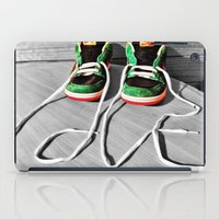 sneaker iPad Cases featuring Sneaker Love by SefoG