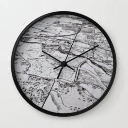 Earth III Wall Clock
