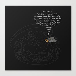 Heavenly Father Canvas Print