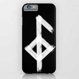 Icelandic magical stave meaning good health iPhone Case