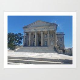 United States Custom House Art Print