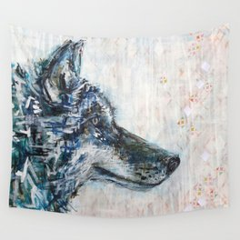 Wolf Spirit Wall Tapestry