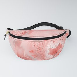 Coral Agate Fanny Pack