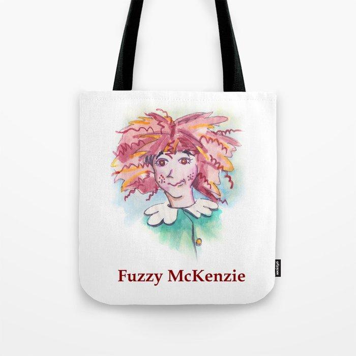 Fuzzy McKenzie Tote Bag