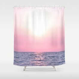 Calming Sea view Shower Curtain