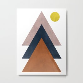 Mountain II Metal Print