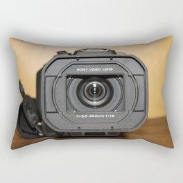 Video Camera Rectangular Pillow