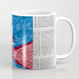 Na Cabina, Lendo as Estrelas, Estrelas Infinitas Coffee Mug
