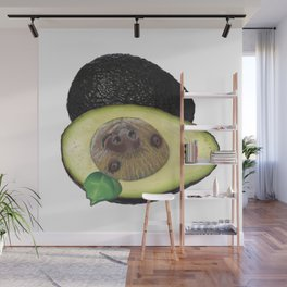 Slothvocado is a Sloth combined with an Avocado Wall Mural