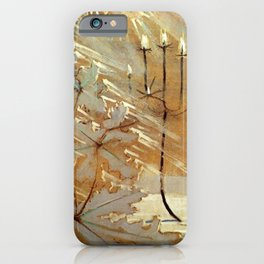 Winter No. 2 (Ziema II) portrait painting by Mikalojus Konstantinas Ciurlionis iPhone Case