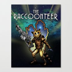 The Raccoonteer Canvas Print