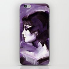 Lilas iPhone & iPod Skin