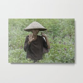 indo style Metal Print