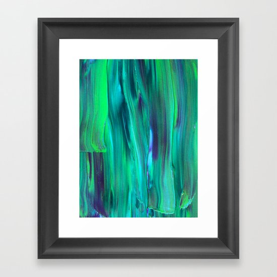 Abstract Painting 29 Framed Art Print
