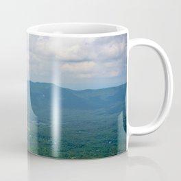 Blue Green Shenandoah Landscape Photograph Valleys and Hill Virginia Art  Coffee Mug