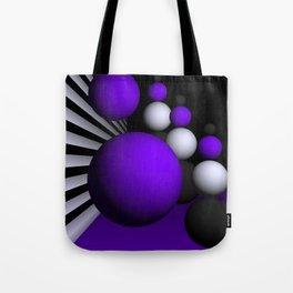 go violet -14- Tote Bag