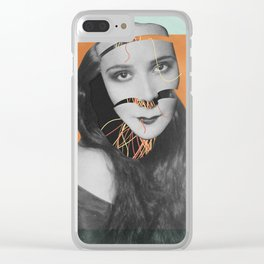 Discombobulated Five Clear iPhone Case