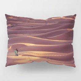 Sunrise over the Sahara desert Pillow Sham