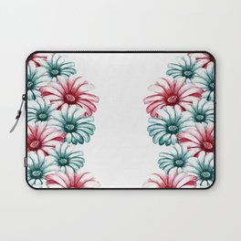Red and green camomile Laptop Sleeve