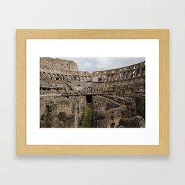 The Coliseum Framed Art Print
