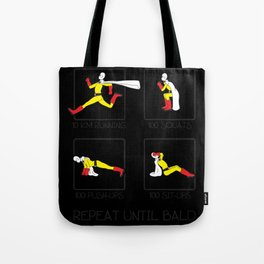 One Punch Man Workout Tote Bag