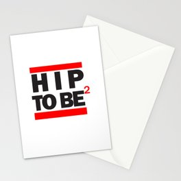 Hip To Be Square Stationery Cards