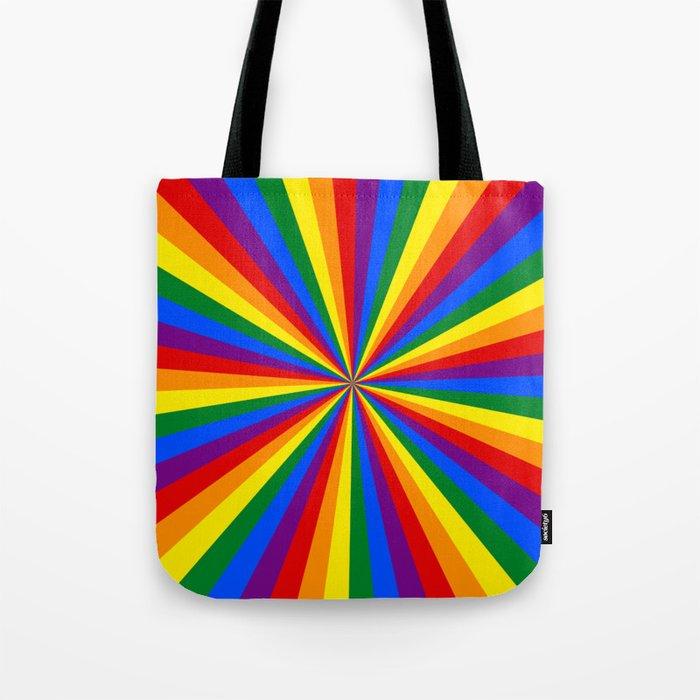 Eternal Rainbow Infinity Pride Tote Bag