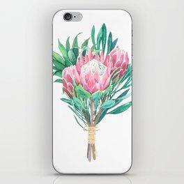 protea bouquet iPhone Skin
