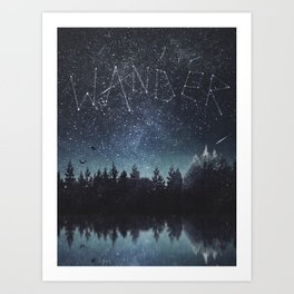 Its written in the stars Art Print