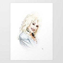 Dolly Parton - Pop Art Art Print