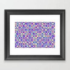 Pattern 60's like Framed Art Print