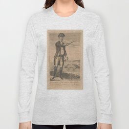 Vintage Portrait of General Joseph Warren (1871) Long Sleeve T-shirt