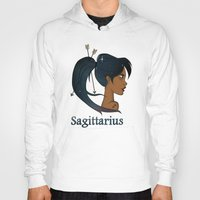 sagittarius Hoodies featuring Sagittarius  by Jo Sharp
