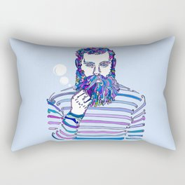 Sea Wolf Ghost (Blue Version) Rectangular Pillow