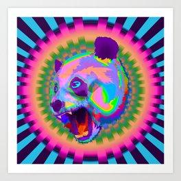 Prismatic Panda  Art Print