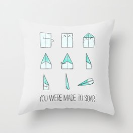 You Were Made To Soar Throw Pillow