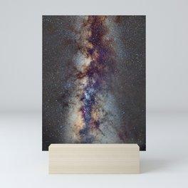 The Milky Way from Scorpio Antares and Sagitarius to North America Nebula in Cygnus Mini Art Print