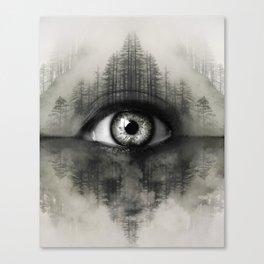 Misty Witness Canvas Print