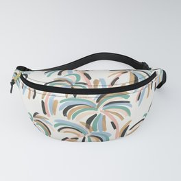 Rainbow Palm Fanny Pack