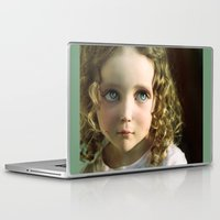 manga Laptop & iPad Skins featuring Manga Mila by micklyn