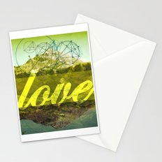 LOVE (1 Corinthians 13:13) Stationery Cards