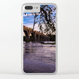 As The Train Goes By Clear iPhone Case