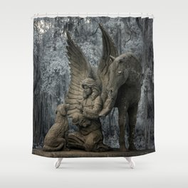 Pet Cemetery  Shower Curtain
